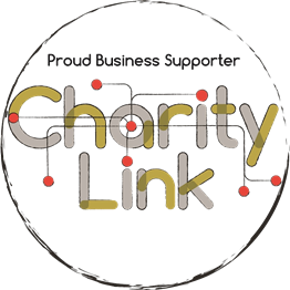 Charity Link business supporter logo