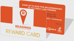 Readings Reward Card