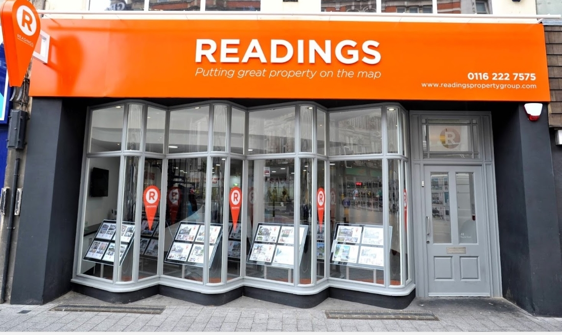Readings office on Granby Street, your local Leicester estate agent