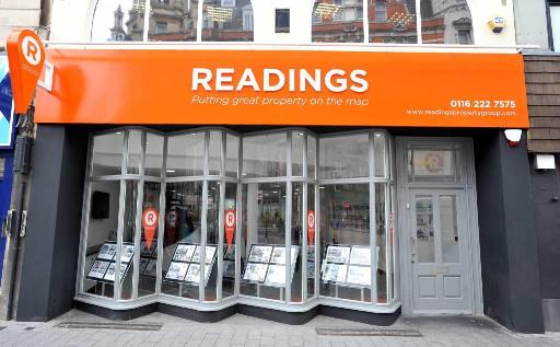 Readings Property Group, Leicester estate agents office picture