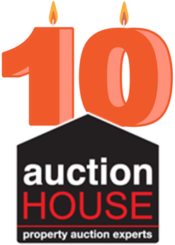10th anniversary Auction House logo