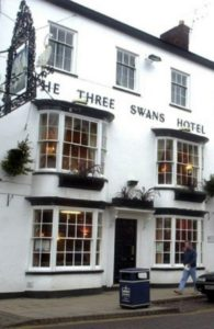 Haunted Leicester Houses - Three Swans Hotel
