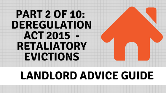 Retaliatory Evictions, Landlord Advice banner