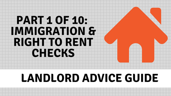 Right to Rent Checks_Landlord Advice banner