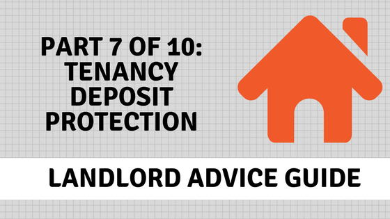 Tenancy deposit protection banner