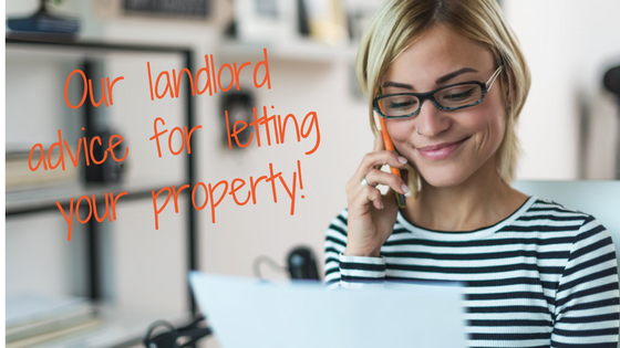 Landlord advice, letting property contract