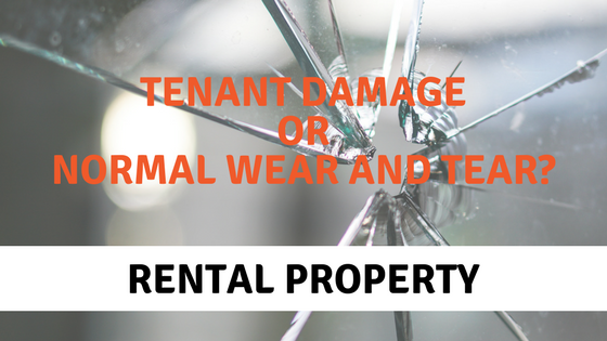 "Banner: ""Tenant damage or normal wear and tear"""