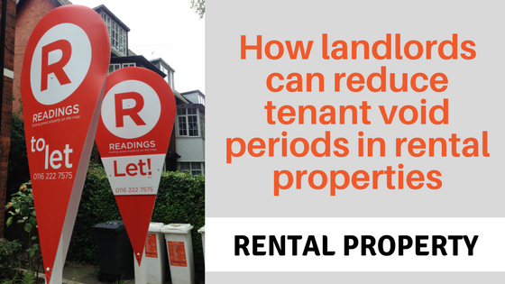 "Banner ""How landlords can reduce tenant void periods in rental properties"""