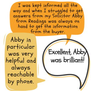 Excellent reviews for Leicester estate agent, Abby Hughson